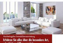 Immobilien vermieten / um die Vermietung von Häusern, Wohnungen und Gewerbeimmobilien