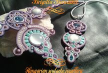Soutache jewellery for Horses / Hungarian soutache jewellery