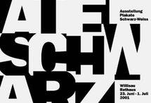 Plakat Gestaltung S/W