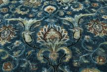 Vintage / Make a statement with these wool and silk, hand knotted carpets adding a vintage feel to your interiors.