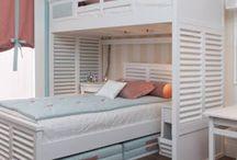 16 quartos com camas beliche! Dica para espaços pequenos!