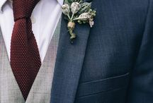 Groom corsages