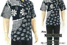 KEMEJA BATIK PRIA / batik hem pria menggunakan kain cotton halus kualitas baik dan motif modern