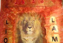Bible Art Journaling / Den Bibeltext auf künstlerische Art auslegen.