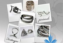 Pierścionki Multiring / Multirings / Kolekcja pierścionków wykonanych ze srebra o nietypowych wzorach. Silver multirings unique design.