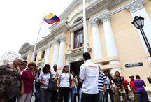 Ruta Patrimonial del casco histórico de Caracas / Este viernes 9/5 se dio inicio a la nueva Ruta Patrimonial en el caso histórico de la capital venezolana, políticas que rescatan la cultura y la historia del país suramericano.