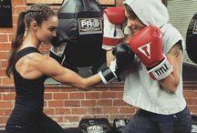 Work out box kickbox