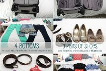 Travel/packing tips / by Lisa Tetens