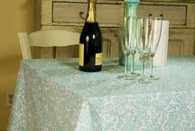 French Country Tablecloths / French Country Tablecloths - Luxury Table Linens / by Attiser
