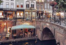 Travel - Dutch cities (shopping/culture)
