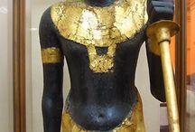 Egyiptomi szobrászat, hieroglifák.... / legszebb portrék....