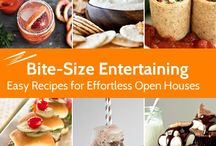 Open House Food Ideas / Your next open house will be a hit with these easy recipes. Pin your favorite open house food ideas with #ZipListed in the description and we'll repin our favorites here!   / by ZipRealty