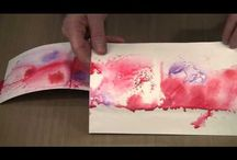 Daler Rowney Acrylic Inks / Ideas, tutorials and inspiration using acrylic inks