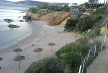 best beaches in Attica