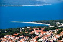 Bol island Brac, Croatia / Bol is top destination for holidays in Croatia. Most awarded holiday destination with tourism history of over 90 years. Home of one of top world beaches called Zlatni rat beach.