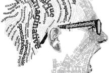 Typografie, zelf portret
