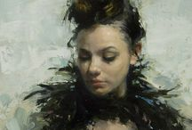 Jeremy Mann / Paintings