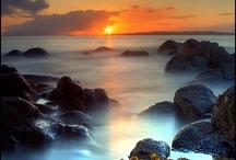 Sol, hav og fjell