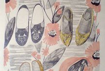 about shoes illust