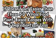 Whole foods plant based recipes