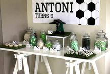 Football Party / Inspiration for a football party
