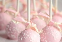"Yummylicious on a stick / Cake pops and party food ""on a stick"" / by The Baby Shower Shop"