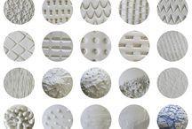 Texturas en cerámica