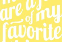 My Favorite Things / These are some of my favorites -  products or things I use or own, shows I watch, music I listen to, my interests, etc. / by Carol Camp