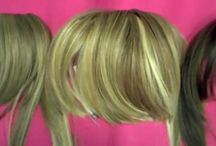 Godiva's Secret Wigs Bangs on a Headband / Chemo Accessories - Our Bangs on a Headband are one of our favorite hair loss products. Perfect for someone with hair loss due to chemotherapy or alopecia. These bangs are attached to a headband. So lightweight and easy to wear, you won't even know they're there! These bangs come in two types - the Danielle Bang and the Fringe Bang. So realistic looking, wear them underneath a print scarf or turban.