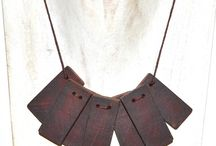 Upcycled Necklaces / You'd never guess these are made from upcycled materials! OH SO GORGEOUS!
