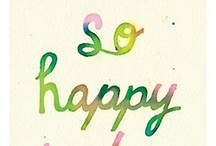 Happiness is ...