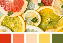 """SUMMER 2017 color palettes / Second album, part of inspiration for """"Summer coloring cards exchange"""" Bulgaria 2017 Invite"""