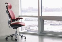 Ergonomic Office Furniture / Ergonomics is the process of designing or arranging workplaces, products and systems so that they fit the people who use them.