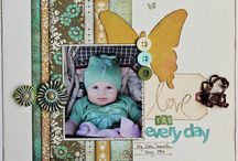 Cre8te -My Digital Studio/Scrapbook Fun / Pages, scrap sketches, layouts to recre8te in traditional or digital! :) / by Mitzi Hall