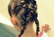 Braids for girls / Ideas for Dori's hair / by Susan Craig-Olsen