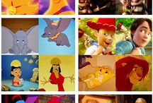Disney/DreamWorks animation / My favourite characters to watch as a kid :)