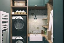 Laundry Room/ Buanderie