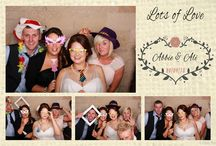 Odd Box Custom Print Designs / A selection of Custom Print designs used at a variety of photo booth hires from weddings, parties and corporate events.