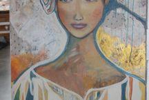 Mes toiles / Ma passion pour la peinture. Mes toiles ne sont pas libres de droit. Merci de respecter mon travail