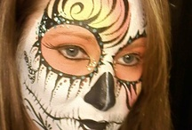 pinturas faciais-Halloween