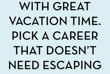 Work & Career inspiration