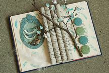 Book art / by sue Bowen