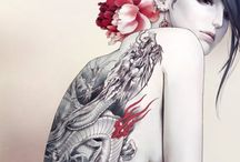 I HEART ART / Illustrations / painting / prints / woodcutting / design / any other art medium