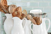 Kitchen Vignettes / Kitchen vignette inspiration for your next big home project.
