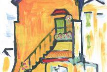 Painting / My paintings - mijn schilderwerk