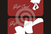 Gift cards / Different styles of gift cards