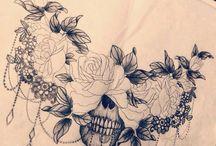 Underboob&ribs tattoo ideas