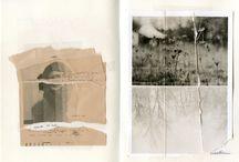 Artist sketch books / art journals
