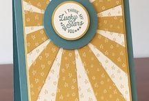 Stampin' Up! ~ Starburst Thinlits Die