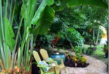 garden Bali theme - outside